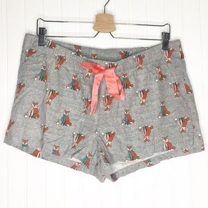 Old Navy | Fox Flannel Shorts